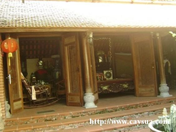 Ngôi nhà gỗ sưa đỏ được nâng giá lên 70 tỷ đồng