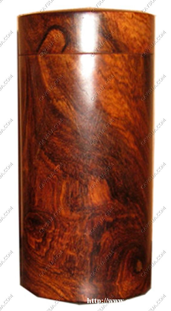 Hộp đựng trà đặc biệt được làm từ gỗ sưa đỏ [sản phẩm làm từ gỗ sưa đỏ]